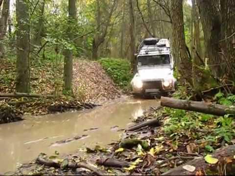 land-rover defender 110 off-road  test