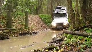 land-rover defender 110 off-road  test
