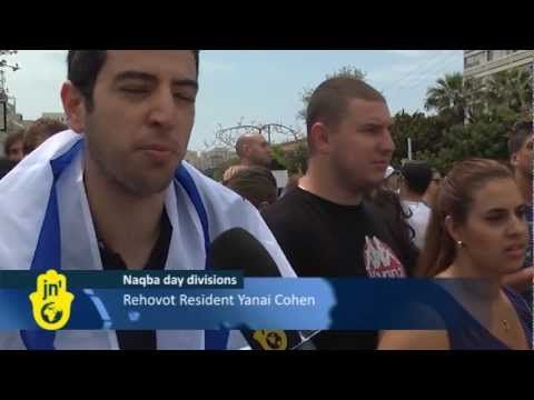 Israelis Protest Naqba Day at Tel Aviv University: Palestinians, Israeli Arabs Against Israel