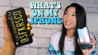 WHAT'S ON MY IPHONE XS MAX!