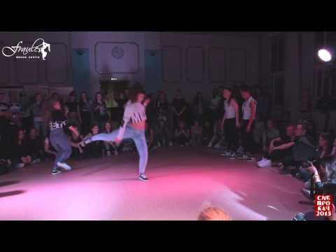 Dancehall 2x2 1/ 8 final  Gaika & Kaya vs Queensteps