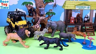 Animal Planet Safari Truck and Fun Animals Toys For Kids
