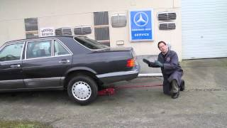 Mercedes Sticking or Frozen Brake Caliper Inspection You Can Do Yourself