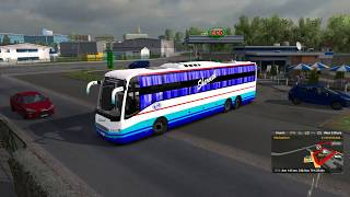 🔴 ETS 2 - Bus Driving Indian Skin Mods [KPN Travels Volvo Sleeper]