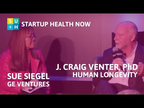 The Power to Extend Life - Craig Venter, PhD & Sue Siegel: NOW! #72