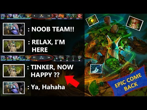 EPIC COME BACK!! - Treant Protector Save The GAME Dota 2 Panda Braco
