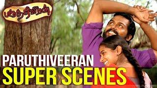 Paruthiveeran - Super Scenes | Karthi | Priyamani | Saravanan | Tamil Super Scenes