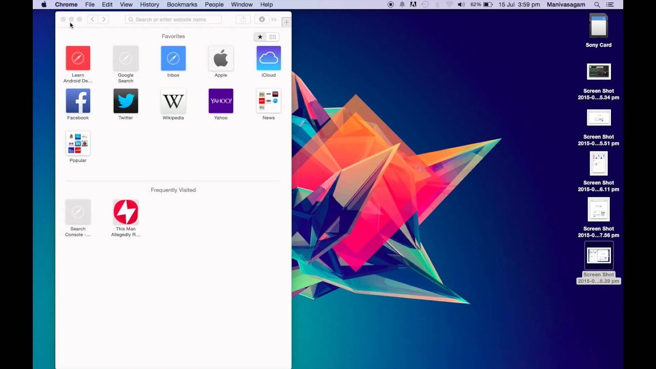 Как делать снимки экрана на компьютере Mac - Служба поддержки Apple 22
