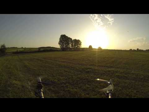 Hexacopter Turnigy H.A.L with hero 3 black on top KK2.0