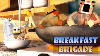 Minecraft Breakfast Brigade : NEVER HAVE I EVER!