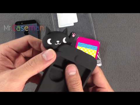 Yamani Nyanny Black Cat case for iPhone 5 unboxing & review by Mr.caseman