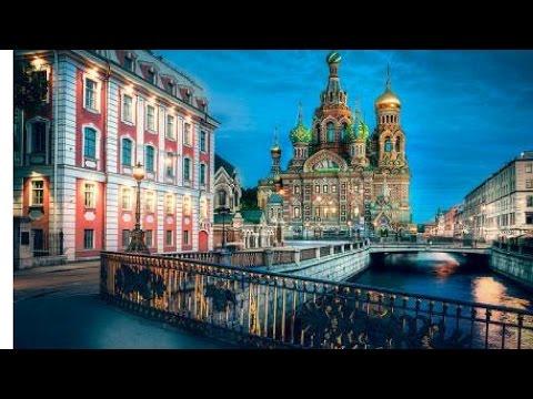 Amazing Drone Footage of Saint Petersburg