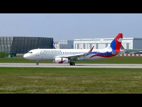 New Nepal Airlines A320 Sharklets [9N-AKX]