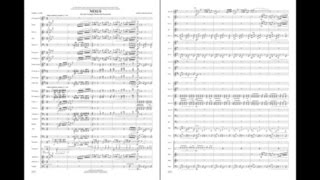 Nexus for Solo Trumpet, Winds and Percussion by James Curnow