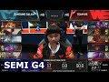 Team WE vs Samsung Galaxy   Game 4 Semi Finals S7 LoL Worlds 2017   WE vs SSG G4