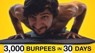 I did 100 BURPEES for 30 days. Here's what happened. (2019)