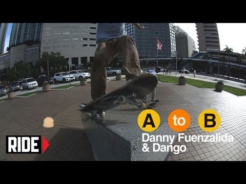 Danny Fuenzalida and Dango Skate Miami - A to B