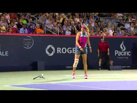 2014 Rogers Cup Montreal - August 8 Evening Highlights