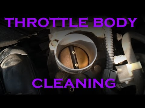 Throttle Body Cleaning - 4 Cylinder Toyota