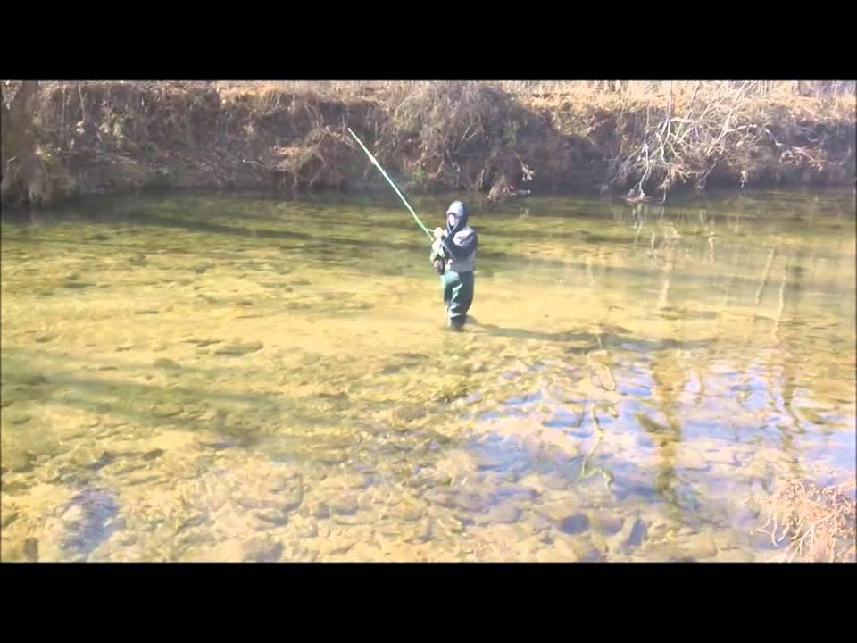 Elk creek fly fishing north carolina 1 1 12 youtube for Fly fishing north carolina