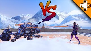 CHARGE VS HACK! Who is Faster? Overwatch Funny & Epic Moments 776