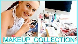 MAKEUP COLLECTION & ORGANISATION! 13 Year Old Makeup Collection 2018