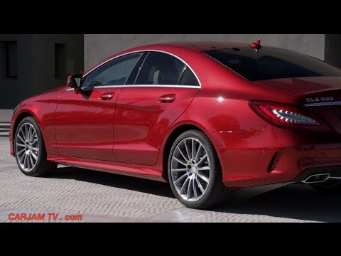 2015 mercedes cls 500 start up driving interior 4matic for Mercedes benz official site usa