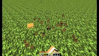 Minecraft tutorial3.Бесконечный источник еды.