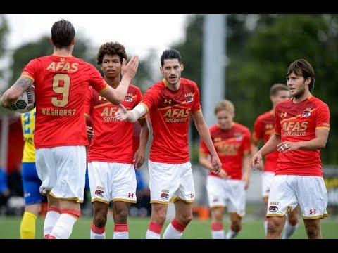 Goals AZ - SC Cambuur