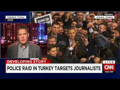 Freedom of the press! Journalists arrested in Turkey - CNN Newsroom