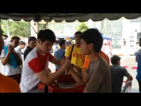 Singapore Armwrestling - Game of Arms Kajang Competition 2014