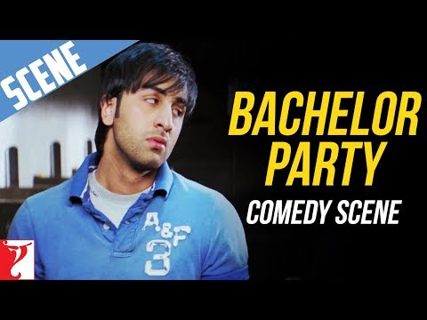 Bachelor Party - Comedy Scene - Bachna Ae Haseeno