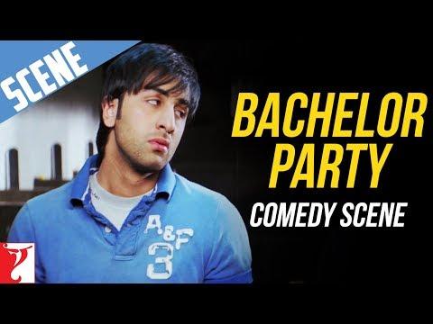 Bachelor Party - Comedy Scene - Bachna Ae Haseeno