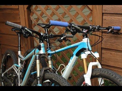 Cross Country  vs Trail Mountain Bike