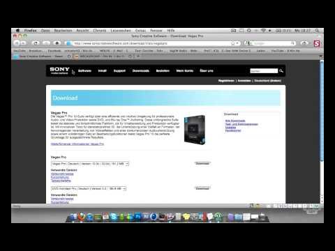 How to get Sony Vegas Pro 10 on Mac   Deutsch   CouchPotatoeHD