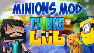 Minecraft : Think's Lab Minions Mod Showcase