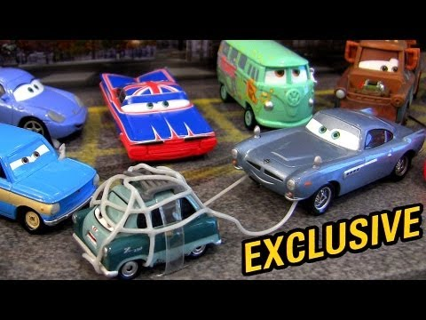 12-Pack Cars 2 Captured Professor Z London Rescue Target Exclusive Disney Mattel Pixar trapped toys