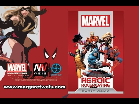 Game Geeks  #198 Marvel Heroic Roleplaying  by Margaret Weis Productions
