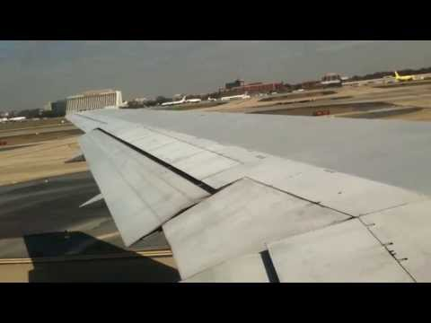 Atlanta to Las Vegas on Delta Airlines Flight #1402