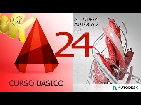 AutoCAD 2014, Tutorial texto multilinea y una linea, Curso Básico Español Capitulo 24