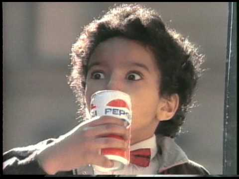 Michael Jackson 1986 old PEPSI International ...