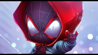 #Spiderverse Miles Morales - Spider-verse chibi