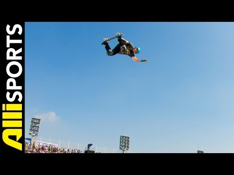 Jake Brown MegaRamp Skating + My 5 Interview, Alli Sports