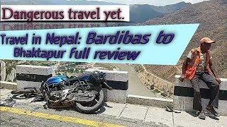 Dangerous Travel from Bardibas to Bhaktapur full review. #traveldiaries #Travel_in_Nepal
