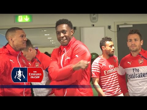 Reading 1-2 Arsenal - FA Cup tunnel cam | Inside Access
