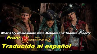 download lagu What's My Name-china Anne Mcclain & Thomas Doherty From gratis
