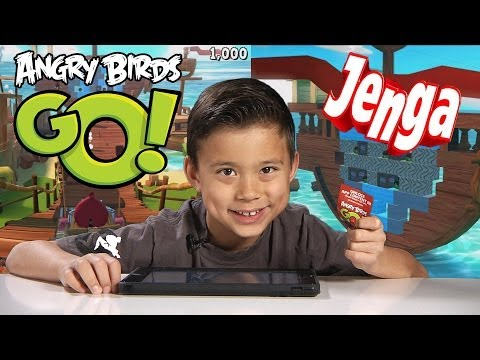 Angry Birds GO! JENGA - App Content Code GAMEPLAY - 3 STARS!!!