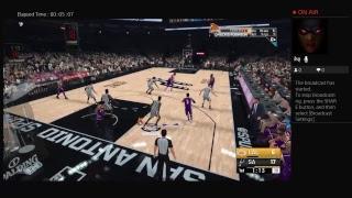 MADMFSKILLZZ's NBA2K19 SPURS VS LAKERS