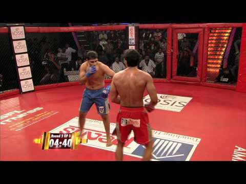 MMA in India: Super Fight League -17- Charanjit Singh Vs  Yash Kumar