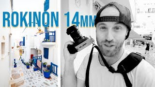 Street Photography with a Wide Angle Lens? The Rokinon 14mm f/2.8